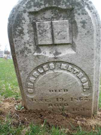 KETROW, CHARLES - Montgomery County, Ohio | CHARLES KETROW - Ohio Gravestone Photos