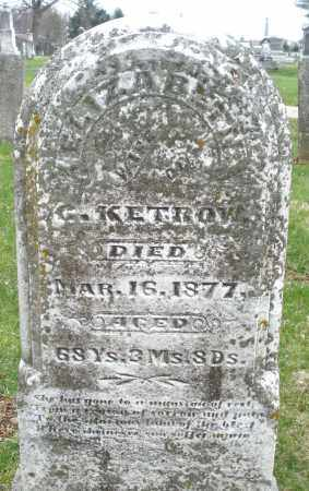 KETROW, ELIZABETH - Montgomery County, Ohio | ELIZABETH KETROW - Ohio Gravestone Photos