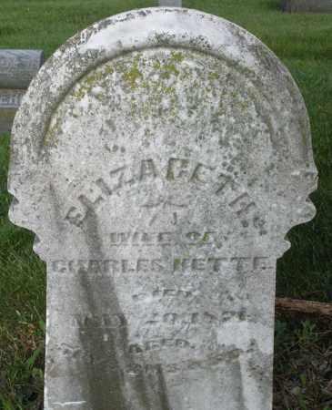 KETTE, ELIZABETH - Montgomery County, Ohio | ELIZABETH KETTE - Ohio Gravestone Photos