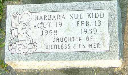 KIDD, BARBARA SUE - Montgomery County, Ohio | BARBARA SUE KIDD - Ohio Gravestone Photos