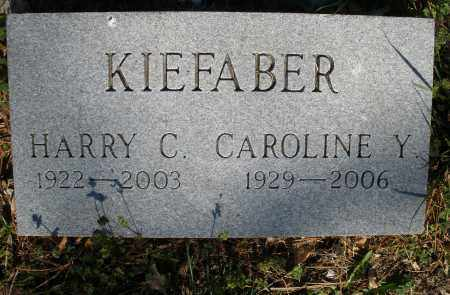 KIEFABER, HARRY C. - Montgomery County, Ohio | HARRY C. KIEFABER - Ohio Gravestone Photos