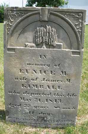 KIMBALL, EUNICE M. - Montgomery County, Ohio | EUNICE M. KIMBALL - Ohio Gravestone Photos