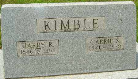 KIMBLE, CARRIE S - Montgomery County, Ohio | CARRIE S KIMBLE - Ohio Gravestone Photos