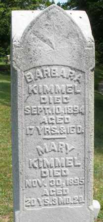 KIMMEL, BARBARA - Montgomery County, Ohio | BARBARA KIMMEL - Ohio Gravestone Photos