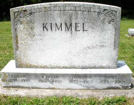 KIMMEL, CATHERINE - Montgomery County, Ohio | CATHERINE KIMMEL - Ohio Gravestone Photos