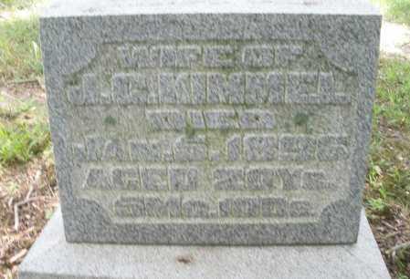 KIMMEL, IDA - Montgomery County, Ohio | IDA KIMMEL - Ohio Gravestone Photos