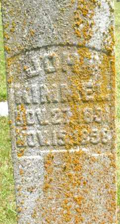 KIMMEL, JOHN - Montgomery County, Ohio | JOHN KIMMEL - Ohio Gravestone Photos