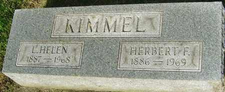 KIMMEL, L HELEN - Montgomery County, Ohio | L HELEN KIMMEL - Ohio Gravestone Photos