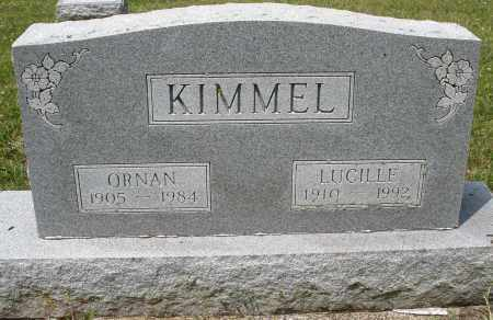 KIMMEL, ORNAN - Montgomery County, Ohio | ORNAN KIMMEL - Ohio Gravestone Photos