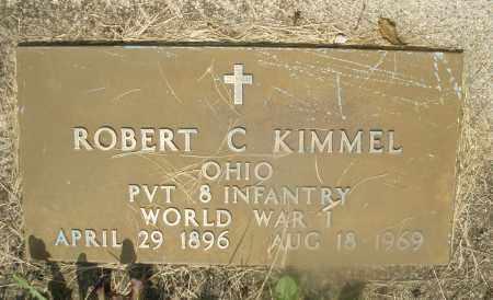 KIMMEL, ROBERT C. - Montgomery County, Ohio | ROBERT C. KIMMEL - Ohio Gravestone Photos