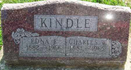 KINDLE, EDNA E - Montgomery County, Ohio | EDNA E KINDLE - Ohio Gravestone Photos