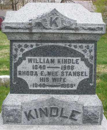 KINDLE, WILLIAM - Montgomery County, Ohio | WILLIAM KINDLE - Ohio Gravestone Photos