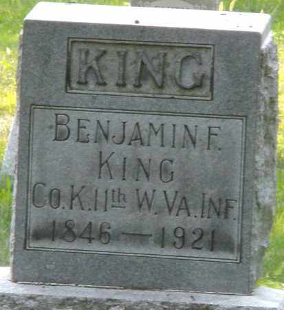 KING, BENJAMIN F. - Montgomery County, Ohio | BENJAMIN F. KING - Ohio Gravestone Photos