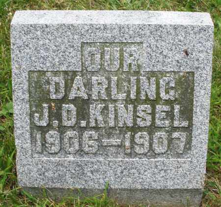 KINSEL, J.D. - Montgomery County, Ohio | J.D. KINSEL - Ohio Gravestone Photos