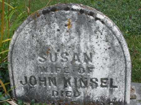 KINSEL, SUSAN - Montgomery County, Ohio | SUSAN KINSEL - Ohio Gravestone Photos