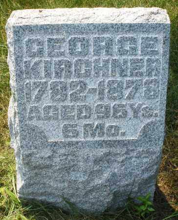 KIRCHNER, GEORGE - Montgomery County, Ohio | GEORGE KIRCHNER - Ohio Gravestone Photos