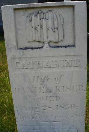 KISER, CATHARINE - Montgomery County, Ohio | CATHARINE KISER - Ohio Gravestone Photos