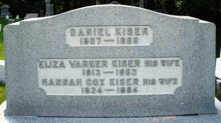 KISER, ELIZABETH - Montgomery County, Ohio | ELIZABETH KISER - Ohio Gravestone Photos