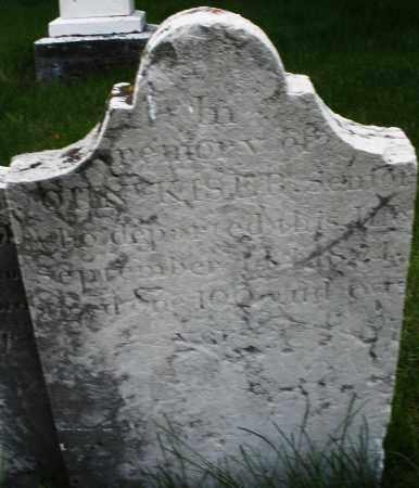 KISER, JOHN - Montgomery County, Ohio | JOHN KISER - Ohio Gravestone Photos