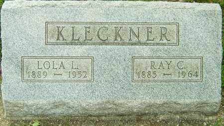 KLECKNER, RAY C - Montgomery County, Ohio | RAY C KLECKNER - Ohio Gravestone Photos