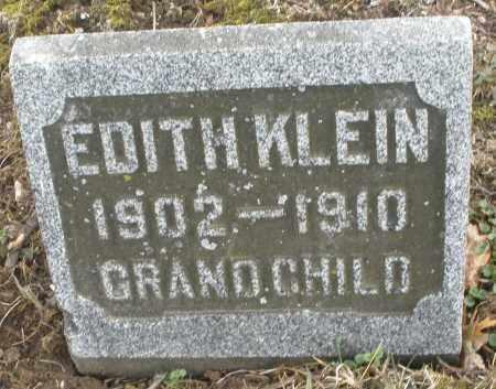 KLEIN, EDITH - Montgomery County, Ohio | EDITH KLEIN - Ohio Gravestone Photos