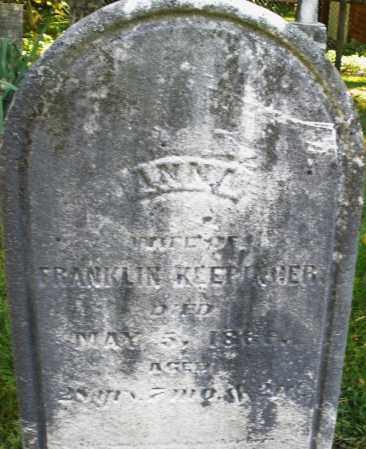 KLEPINGER, ANNA - Montgomery County, Ohio | ANNA KLEPINGER - Ohio Gravestone Photos