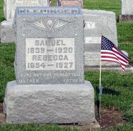 KLEPINGER, SAMUEL - Montgomery County, Ohio | SAMUEL KLEPINGER - Ohio Gravestone Photos