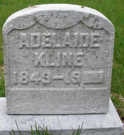 KLINE, ADELAIDE - Montgomery County, Ohio | ADELAIDE KLINE - Ohio Gravestone Photos
