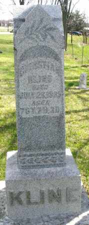 KLINE, CHTISTIAN - Montgomery County, Ohio | CHTISTIAN KLINE - Ohio Gravestone Photos