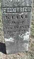 KLINE, FREDERICK - Montgomery County, Ohio | FREDERICK KLINE - Ohio Gravestone Photos