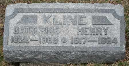 KLINE, CATHERINE - Montgomery County, Ohio | CATHERINE KLINE - Ohio Gravestone Photos