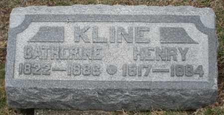 KLINE, HENRY - Montgomery County, Ohio | HENRY KLINE - Ohio Gravestone Photos