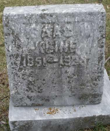 KLINE, ISAAC - Montgomery County, Ohio | ISAAC KLINE - Ohio Gravestone Photos