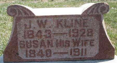 KLINE, J.W. - Montgomery County, Ohio | J.W. KLINE - Ohio Gravestone Photos