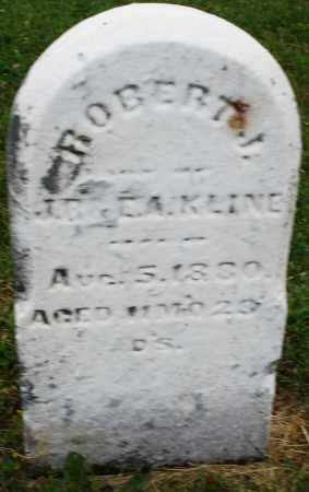 KLINE, ROBERT J. - Montgomery County, Ohio | ROBERT J. KLINE - Ohio Gravestone Photos