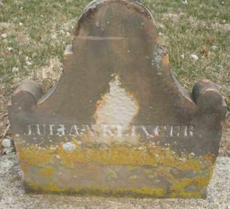 KLINGER, JULIAN - Montgomery County, Ohio | JULIAN KLINGER - Ohio Gravestone Photos