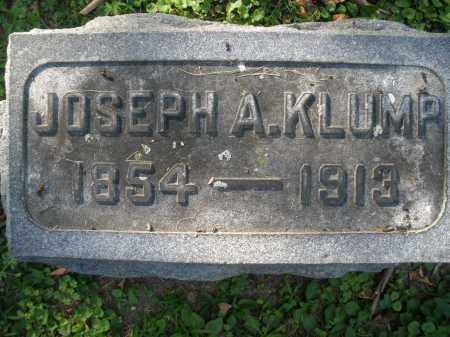 KLUMP, JOSEPH A. - Montgomery County, Ohio | JOSEPH A. KLUMP - Ohio Gravestone Photos