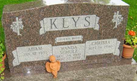 SCHULZ KLYS, WANDA - Montgomery County, Ohio | WANDA SCHULZ KLYS - Ohio Gravestone Photos