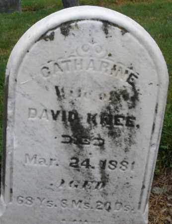 KNEE, CATHARINE - Montgomery County, Ohio | CATHARINE KNEE - Ohio Gravestone Photos