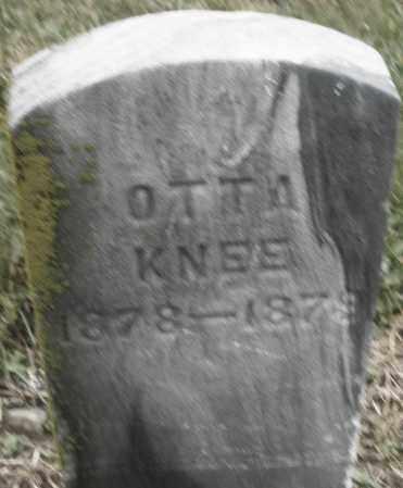KNEE, OTTA - Montgomery County, Ohio | OTTA KNEE - Ohio Gravestone Photos