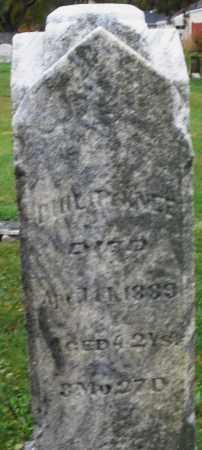 KNEE, PHILIP - Montgomery County, Ohio   PHILIP KNEE - Ohio Gravestone Photos