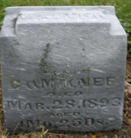 KNEE, WALTER - Montgomery County, Ohio | WALTER KNEE - Ohio Gravestone Photos