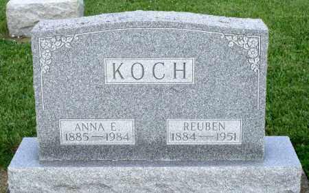 KOCH, REUBEN - Montgomery County, Ohio | REUBEN KOCH - Ohio Gravestone Photos