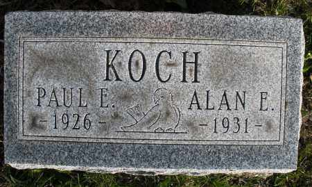 KOCH, PAUL E. - Montgomery County, Ohio | PAUL E. KOCH - Ohio Gravestone Photos