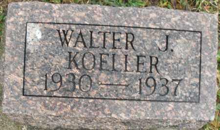 KOELLER, WALTER J. - Montgomery County, Ohio | WALTER J. KOELLER - Ohio Gravestone Photos