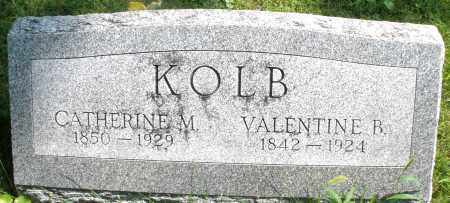 KOLB, CATHERINE M. - Montgomery County, Ohio | CATHERINE M. KOLB - Ohio Gravestone Photos