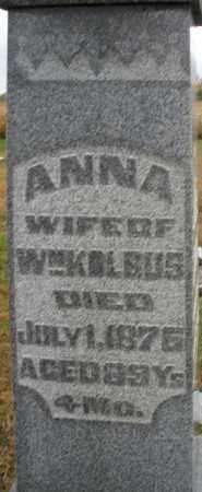 KOLBUS, ANNA - Montgomery County, Ohio | ANNA KOLBUS - Ohio Gravestone Photos