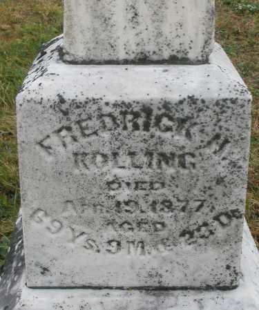 KOLLING, FREDRICK H. - Montgomery County, Ohio | FREDRICK H. KOLLING - Ohio Gravestone Photos
