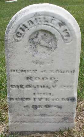 KOPP, CHARLES - Montgomery County, Ohio | CHARLES KOPP - Ohio Gravestone Photos