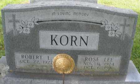 KORN, ROSE LEE - Montgomery County, Ohio | ROSE LEE KORN - Ohio Gravestone Photos